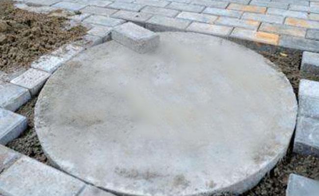 江阴项目水泥盖展示